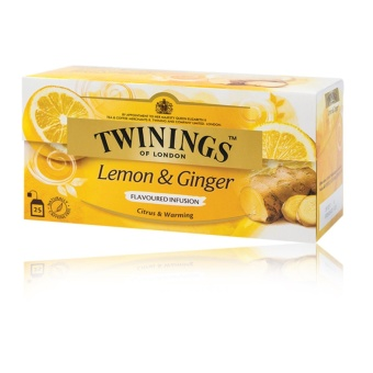 Twinings of London Lemon and Ginger, 25 tea bags Price Philippines