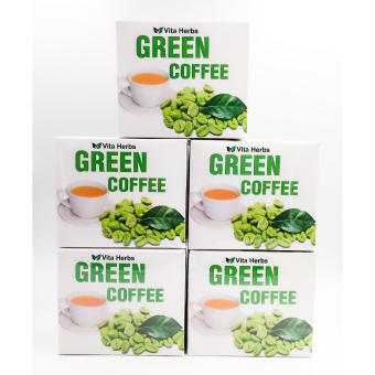 Vita herbs green coffee 10 sachets set of 5 boxes