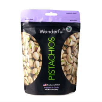 Wonderful Pistachios (Pepper and Garlic) 168 grams with FREE RubberBracelet LED Digital Wrist Watch (Color may vary) Price Philippines