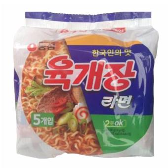 Yukejang ramen 116g 5 Packs Price Philippines