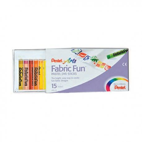 Image of Pentel Fabric Fun 15 Colors Art Implements