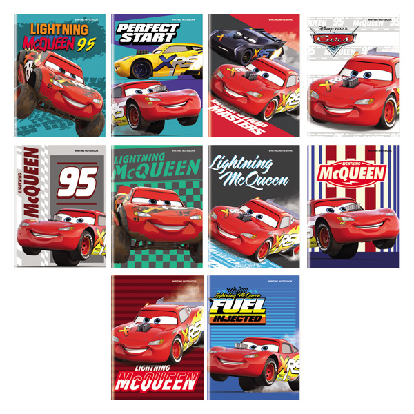 Image of Orions Disney Cars Writing Notebook Set of 10