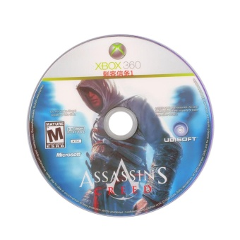 0 shipping fee Assassin's Creed 1 For XBOX 360 Game CD Gameplayer Console Playstation PC - intl