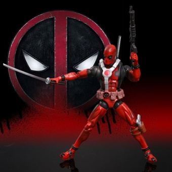 0 shipping fee For DEADPOOL Action Figure Universe X-Men Origins Comic Series Toy Model Gifts - intl