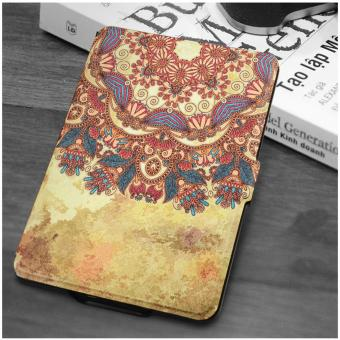 1 Pc/lot Besegad Painting Pattern PU Leather Protector Case SkinCover Shell Sleeve Holder for Amazon Kindle Paperwhite 1 2 3 Silkpattern