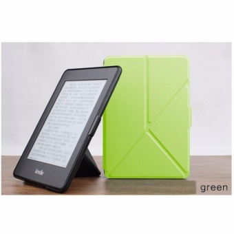 1 Pc/lot Origami Stand Magnetic PU leather case cover folio casefor Amazon New Kindle Paperwhite 1/2/3 Multi-color - intl