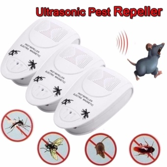 1 X Electronic Ultrasonic Anti Bug Mosquito Insect Pest MouseCockroach Killer Repeller - intl