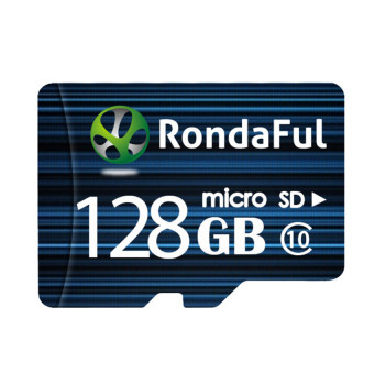 128GB Class 10 Micro SD Card with Adapter - Intl