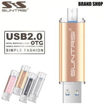 128GB OTG Pen Drive USB 2.0 Flash Drive Pendrive USB Stick (Gold) - intl