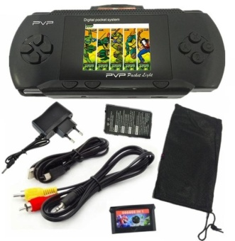 16 bit Handheld Game Console Portable Video Game 150 Games RetroMegadrive PXP PVP PSP (Red) - intl Price Philippines