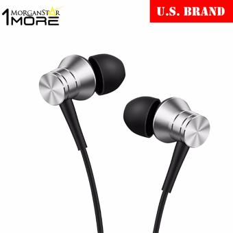 1MORE E1009 Piston Fit In-Ear Earphone Earbud Headset with Microphone (Silver)