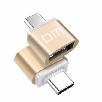 2Pcs DM USB C to USB A Adapter Data Sync Type C Converter to USB Afor New MacBook , MacBook Pro 2016 , ChromeBook Pixel , LenovoChromeBook and More Computers with USB Type C port - intl