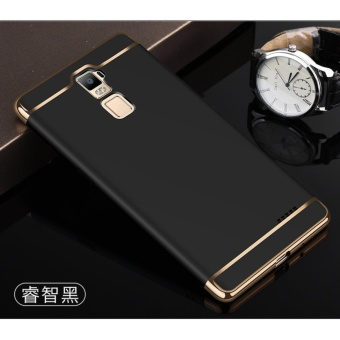 3 In 1 Fashion Ultra Thin Matte Hard Case for For OPPO R7Plus(black) - intl