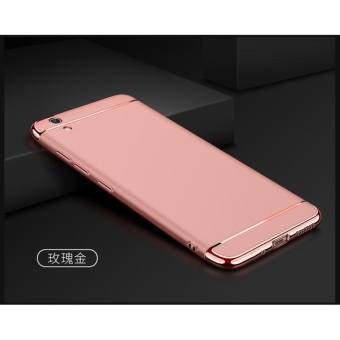 3 In 1 Fashion Ultra Thin Matte Hard Case for For VIVO Y51(rosegold) - intl