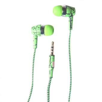 3 in 1 In - Ear Headphone with Mic and Answering Call Function(Green)
