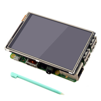 3.5 inch 320 x 480 RGB Pixels HD Display Touch Screen with TouchPen for Raspberry Pi 2 3 Model B - intl