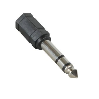 3.5mm Stereo Jack To 1/4 inch Stereo Plug Adapter