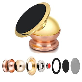 360 Degrees Universal Car Mount Sticky Magnetic Stand Holder ForiPhone/Samsung or other cellphones