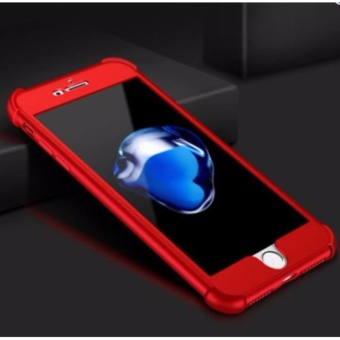 360 Shockproof Case for Apple iPhone 6 / 6s (Red)
