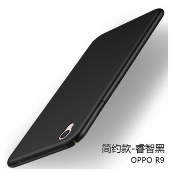 360 ultra-thin matte PC hard Cover Case For Oppo F1 Plus(R9(Black) - intl