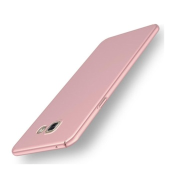 360 ultra-thin matte PC hard Cover Case For S amsung Galaxy A52017(A520F(Rose gold) - intl