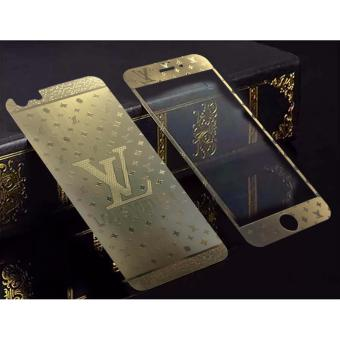 3D LV Tempered Glass Protector Full Screen For Apple iPhone 5 / 5s (F&B)