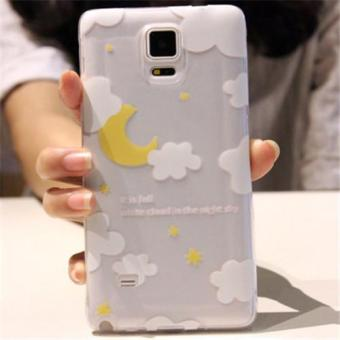 TPU Soft Phone Case for Samsung Galaxy Note 4 (Multicolor)