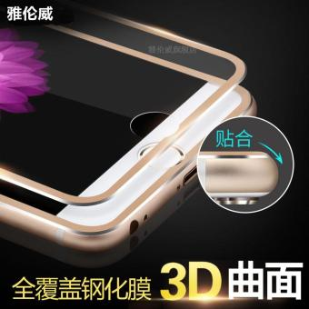 3D/iphone6plus Curved Surface full screen cover glass protector Film