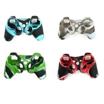 4 Pack of High Quality Premium Super Grip Silicon Protective SkinCase Cover for Sony Playstation 3 PS3 Remote Controller Price Philippines