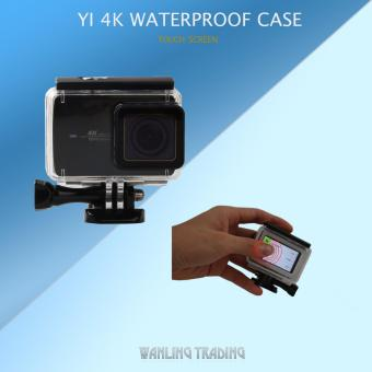 40M Waterproof Case with Touch Backdoor for Xiaomi Yi 4K UnderwaterSports Action Camera Protective Housing Case