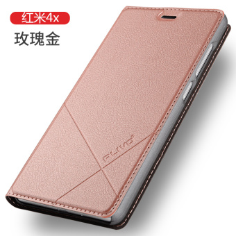 4A men and women Redmi flip-style leather cover phone case