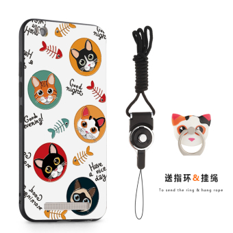4A/4A/redmi4a tempered film lanyard phone case
