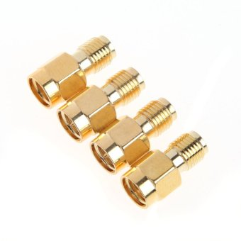 4PCS 5.8G SMA Female/Male Antenna Connector for RC Aircraft FPV -intl