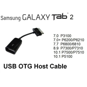 6 inch New 30 Pin to Female USB Adapter OTG Cable for SamsungGalaxy Tab 2 10.1 Tablet  - intl