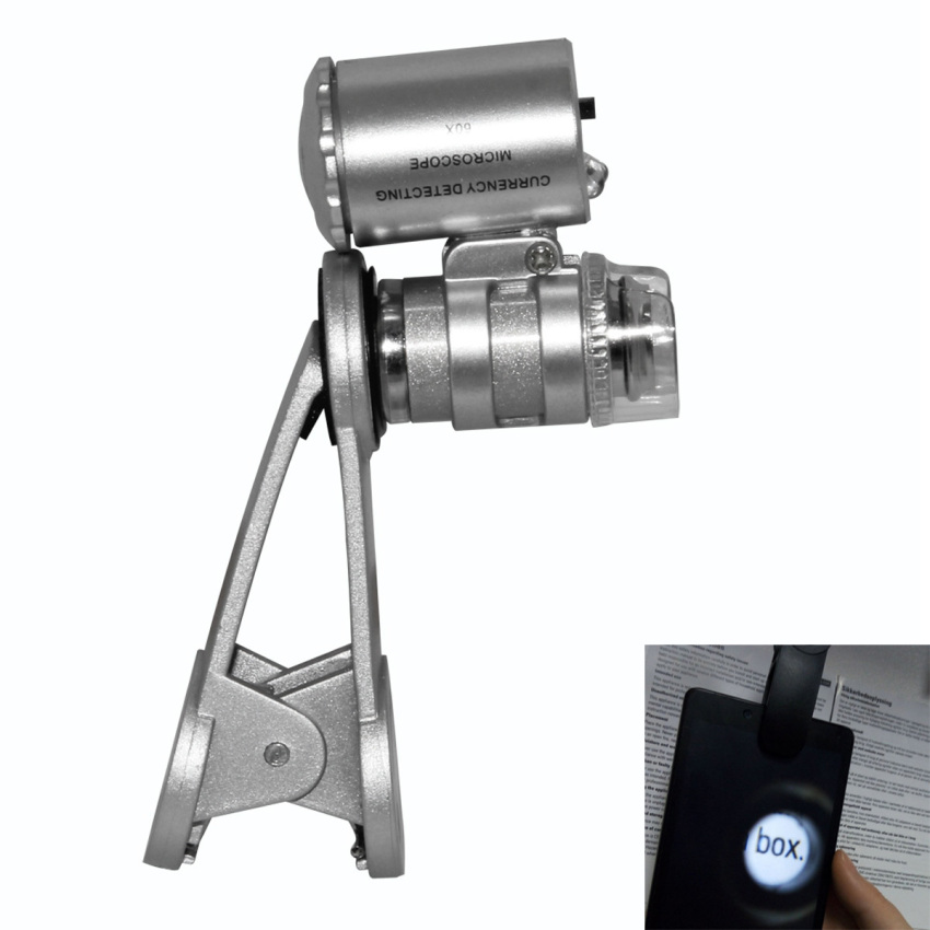 60X Optical Zoom Mobile Phone Microscope Lens Magnifying Camera -intl