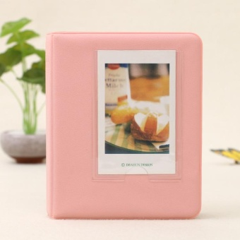 64 Pockets Photo Album Cute For Polaroid Fujifilm Instax Mini 7 7S 8 9 Fuji Film - intl