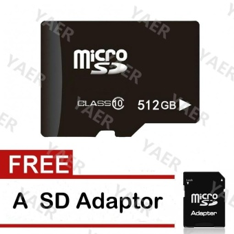 64G,128GB,256GB,512GB Sufficient Memory Card Micro SD Flash Class10 Memory Card - intl