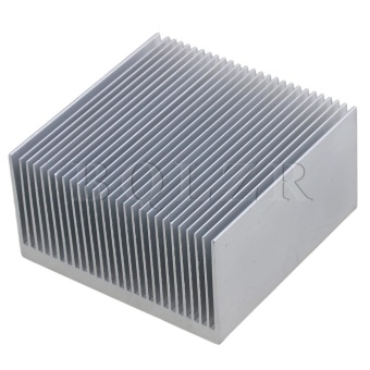 6.9x6.9x3.6cm Aluminium Heat Sink Heatsink Radiation Cooling FinSilver - intl