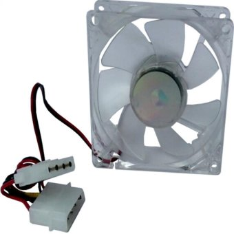 80 mm Computer PC Cooling Fan (Black)