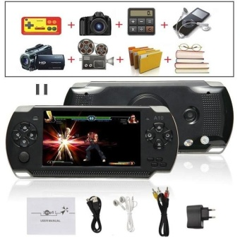 8G 32bit Handheld Game Console Video Games MP5 Retro Megadrive PXPPSP with Camera (Black) - intl Price Philippines