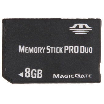 8GB Memory Stick Pro Duo Card (Black) Price Philippines