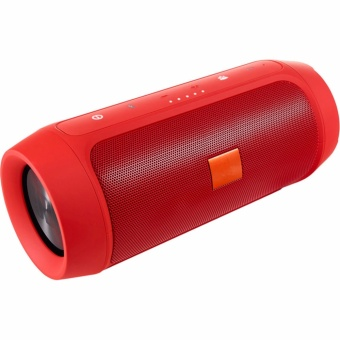 A-K Splashproof Subwoofer Portable Bluetooth Speaker jbl -02 (Red)