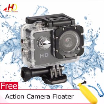 A7 Ultimate Sports Action Cam Under Water Extreme (Black) w/ FREEAction Camera Floater