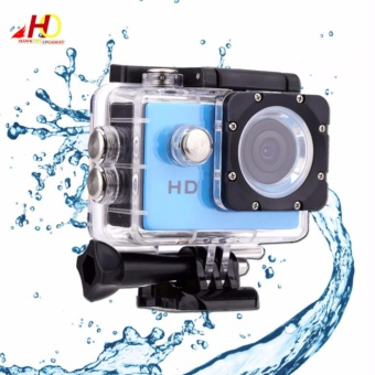 A7 Ultimate Sports Action Cam Under Water Extreme (Blue)