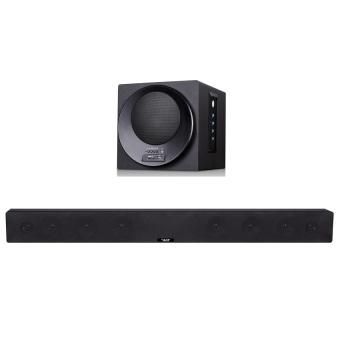 ace bt-k008 surround sound home theater soundbar withbluetooth(black) with free monopad