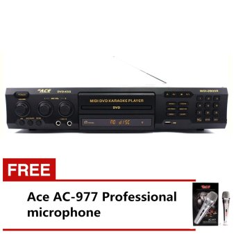 Ace MIDI-2800R Professional King Song Karaoke DVD Player with FreeAce AC-977 Microphone