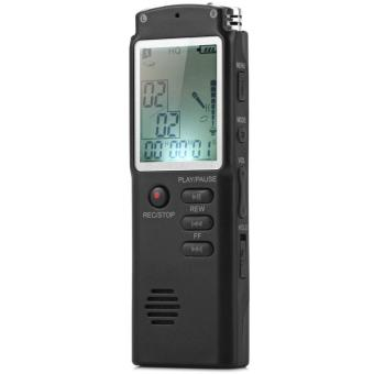 Aibot 2 in 1 Digital Voice Recorder/MP3 player 8GB Memory withDigital LCD Display Digital Voice/Audio Recorder with Microphone -intl