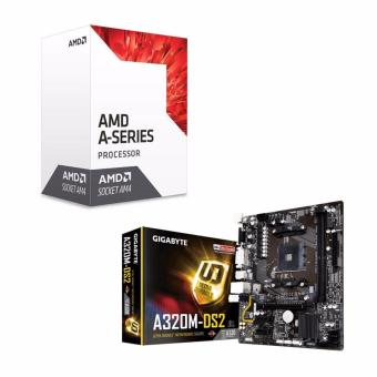 AMD 7th Gen A8 9600 Quad Core AM4 3.4GHz APU Processor with RadeonR7 Graphics and GIGABYTE GA-A320M-DS2 AM4 (A320 Chipset) Micro-ATXMotherboard Bundle Price Philippines