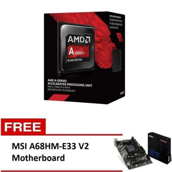 Amd A6-6400 Processor with Free MSI A68HM-E33 V2 Motherboard