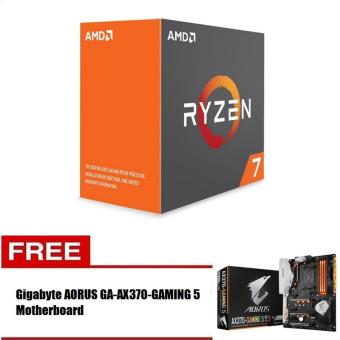 AMD Ryzen 7 1800X 8 Core AM4 Processor with FREE Gigabyte AORUSGA-AX370 GAMING 5 Motherboard Price Philippines